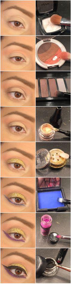 Maquiagem de Sexta – É de ouro!