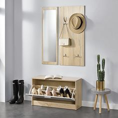 Floating Nightstand, Floating Shelves, Humble Abode, Elle Decor, Wood Design, Home Deco, Sweet Home, Cabinet, Storage