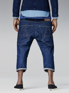 A-CROTCH 3/4 DENIM G star SS14