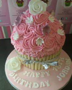 See 2 photos from 6 visitors to Cupcake Couture. Cupcake Couture, Giant Cupcakes, Desserts, Food, Tailgate Desserts, Deserts, Essen, Postres, Meals