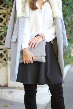GiGi New York   Slate Carly Convertible Clutch   Carrie Bradshaw Lied Fashion Blog