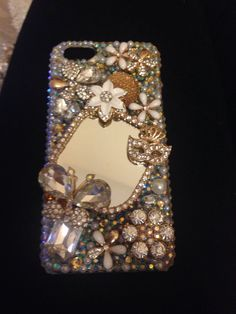 DIY. Phone case. Bling. Sparkle. Home made. Arts and Crafts