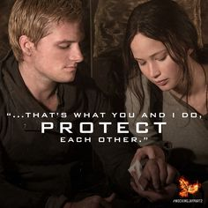 Fill in the blank: My favorite quote in #MockingjayPart2 was _______.