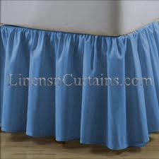 Day Bed Twin Size Tulle White Ruffled Bed Skirt By