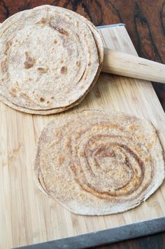 Sugar cinnamon paratha: Ingredients  2 cups whole wheat flour  1 teaspoon salt  2 tablespoons + 1 1/2 teaspoons ghee, divided  3/4 cup water  Cinnamon Sugar: 3 tablespoons sugar  1/2 tablespoon cinnamon