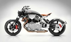 In the beginning there was the Confederate X132 Hellcat. It was good and fast and broke speed records. But it needed something else. It needed the touch of Pierre Terblanche. The former Ducati designer was brought in to give the American hotrod a different style, something fresh and unique. And it takes a hell of a designer to take an already out there bike and make it even more... well... out there. Let us introduce you to (deep breath) the Confederate Motorcycles X132 HellcatSpeedster.