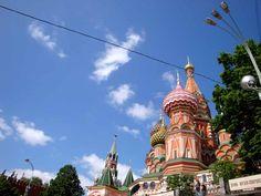 Στη φημισμένη Κόκκινη Πλατεία της Μόσχας