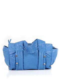Gorgeous blue handbag for spring! #luxeforless