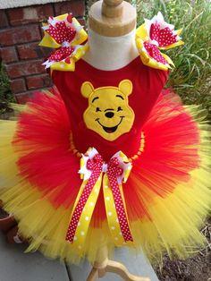 Winnie the Pooh Costume TuTu Set