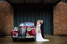 Wedding car shot