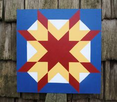 Check out this item in my Etsy shop https://www.etsy.com/listing/213736824/southern-sunrise-2-x-2-barn-quilt-square