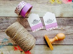 Blog cards made with washi tape Little Hannah