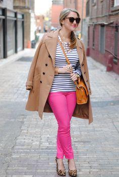hot pink J Brands