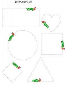 tırtıl_şekil_çalışması Very Hungry Caterpillar Printables, Hungry Caterpillar Craft, Preschool Writing, Preschool Activities, Kids Math Worksheets, Spring Activities, Book Crafts, Butterflies, Toddler Learning Activities