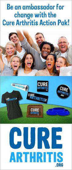 Get the Cure Arthritis Action Pak at CureArthritis.org!