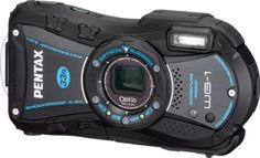 Pentax Optio WG-1 Adventure Series 14 MP Waterproof Digital Camera with 5x Wide-Angle Optical Zoom (Black)