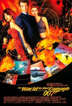 I would have loved to act in this movie: James Bond – The World Is not Enough
