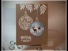 Ornament Scene Card - stampTV