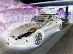 Inverted. Future-istic car