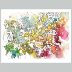 Flowers 52 - Art Print - Moose Allain