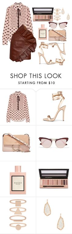 """millennial boss"" by fashion-is-my-passion-14 on Polyvore featuring Markus Lupfer, Chloé, Le Specs, Gucci, L.A. Girl, Accessorize, Kendra Scott and Yves Saint Laurent"