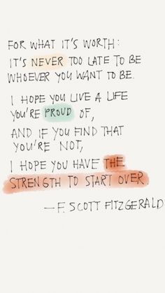 F Scott Fitzgerald quotes - motivational inspirational quotes F Scott Fitzgerald quotes - motivation Now Quotes, Cute Quotes, Words Quotes, Great Quotes, Wise Words, Quotes To Live By, Motivational Quotes, New Start Quotes, Hilarious Quotes