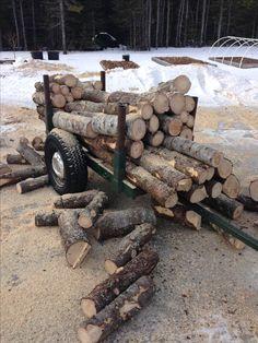 ATV Wood Trailer