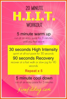 Running Tips - The Best Treadmill Workouts. HIIT workout, Intervals, Pyramid workouts and more!  Whether it's winter or summer, too cold or too hot to face running outside, or you are stuck at home, check out these workouts to make the time fly by.