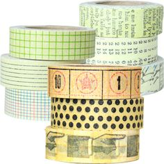 Don't have these, but I like them.  7gypsies™ Paper Tapes