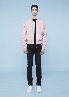 FIG COLLECTIVE 13 PERCENT - MA1 JACKET - PINK