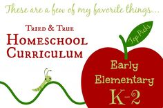 Veteran homeschooler Cindy West shares her favorite early elementary homeschool curriculum choices.
