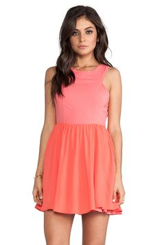 Ladakh Heavenly Dress in Pink Grapefruit from REVOLVEclothing