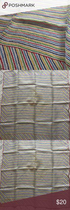 Spotted while shopping on Poshmark: Vintage Rainbow Silk Scarf Handkerchief! #poshmark #fashion #shopping #style #Vintage #Accessories