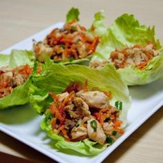 Skinny Asian Chicken Wraps