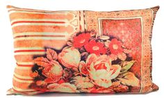 "caravan fleur 20 "" pillow designed by tracy porter-poetic wanderlust"