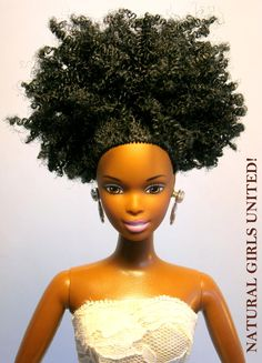 Fancy Natural Doll