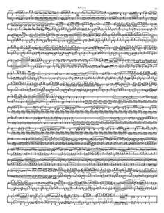 Free Piano Sheet Music – Polonaise Op. 53 – Chopin - 1 Page Version