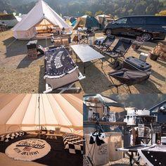 「Welcome to my TENT.」GOOUTCAMP関西vol.5 日本最大級のキャンプイベントでお宅訪問。 うしこさん instgramアカウント/@kuroneko222.gyuko ...
