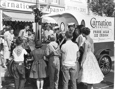 Dapper Day Inspiration: The Carnation Truck at Disneyland!