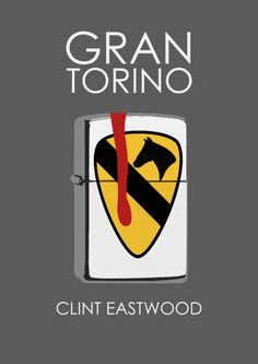 Made this for my college work Gran Torino Minimal Poster Love Movie, Movie Tv, Christian Movies, Minimal Poster, Alternative Movie Posters, Geek Art, Clint Eastwood, Film Posters, Good Movies