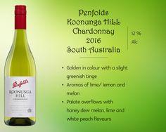 Penfolds Koonunga Hills Chardonnay #PenfoldsWines #KoonungaHillsChardonnay #WhiteWines #WineOnline #WineAustralia