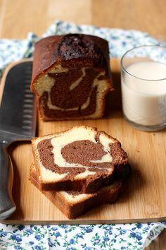 La vraie recette du marbré au chocolat