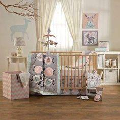 Lolli LivingTM by Living Textiles Mix & Match Sparrow 4-Piece Crib Bedding Set
