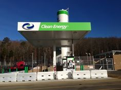 Another look at the Natural Gas Pumps in Knoxville, TN Watt Rd.  Flying J