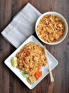 Pad Thai with Shrimp – Pepper Delight