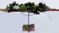 Bloemschikken Rosalie: Bloemschikken Advent & Kerst 2012 - Raamdecoratie