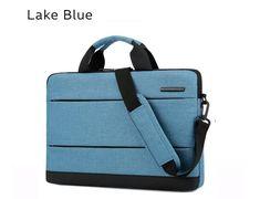 """15.6"""" Lake Blue bag Case, Messenger Handbag, MacBook Case. Best Gift Laptop Messenger Bags, Laptop Bag, Notebook Case, Laptop Shoulder Bag, Macbook Case, Blue Bags, Office Gifts, Gym Bag, Best Gifts"""