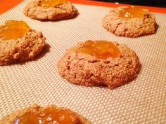 Oat Jam Thumbprint Cookies #vegan #glutenfree #allergyfree #baking
