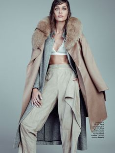 visual optimism; fashion editorials, shows, campaigns & more!: over minimal: ana beatriz barros by nicole heiniger for l'officiel brazil may 2015 #fashionphotographystudio