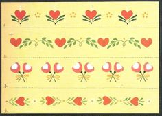 step-by-step Folk ART Flowers - senia One Stroke - Álbumes web de Picasa